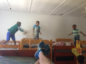 My friend Justin invited me to come hang out at his church's youth camp. Of course we had a pillow fight