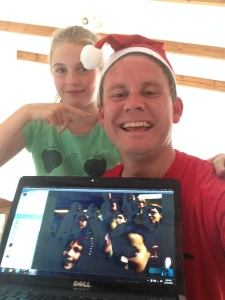 And got to Skype in with my old Sunday School class. We had a blast and was great catching up with them